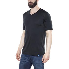 Bergans Bloom Wool Kortærmet T-shirt Herrer sort
